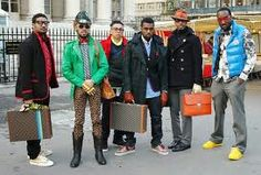 Kanye and the crew #fashion