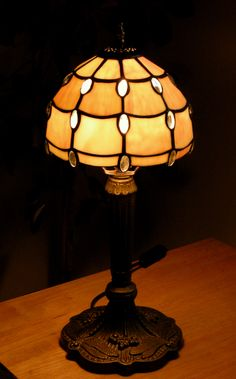 Buckingham lamp repair (after repair) all done and lit up! Stained Glass Lamps, Picture Show, Light Up, Table Lamp, Home Decor, Table Lamps, Decoration Home, Room Decor, Home Interior Design