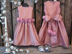 42 best flower girl dresses images on pinterest girls dresses flower girl silk dress dusty pink with by englacharlottashop 5800 mightylinksfo