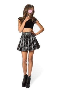 Size S Polka Party Cheerleader Skirt - LIMITED – Black Milk Clothing