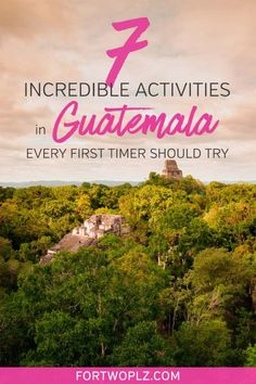 Guatemala is a hidden gem in Central America. It has everything from ancient Maya ruins, charming colonial towns, rich culture to active volcanoes. This post covers best things to do in Guatemala, best Guatemala hotels to stay at, safety and Transport in Belize, Costa Rica, Ecuador, Travel Guides, Travel Tips, Puerto Rico, Atitlan Guatemala, Stuff To Do, Things To Do