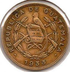 Guatemala One Centavo