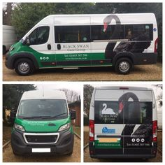 Thank you to Black Swan Care for sending over these fantastic pictures to show off the sign writing on their brand new Peugeot Boxer 17 Seat CanDrive EasyOn Minibus!  Another satisfied customer!  www.minibus-online.co.uk?utm_content=buffer6e771&utm_medium=social&utm_source=pinterest.com&utm_campaign=buffer