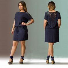 Long and Short Length Fun Summer Dress! Size 14W-22W