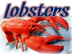Lobsters  Seafood