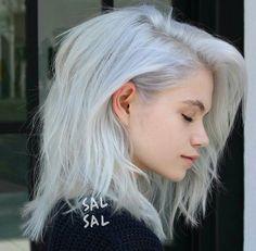 Silver hair colour