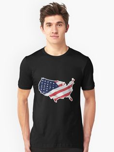 USA Dinosaur American Flag 4th of July Gift Girls/' Fitted Kids T-Shirt day