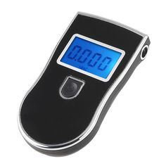 R SODIAL Digital Alcohol Breathalyzer Portable Alcohol Tester Breath Tester Black