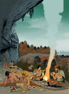 André Houot - Occupation of Abri Freymond in Mollendruz Pass during the Early Mesolithic 9,000 BCE