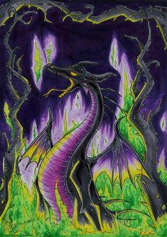 Disney Villains Maleficent | Maleficent Dragon