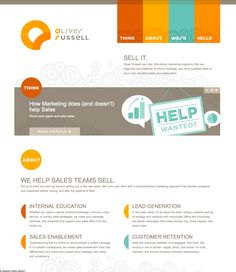 Website Colors and design