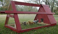 Love this coop! I might could do this one. Wondering about snakes though? I'll have to ask my chicken lady friend.