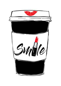 Under Armour Charged Pursuit 2 Grade School Kids' Sneakers, Boy's, Size: Red Coffee Love, Coffee Art, Art Starbucks, Art And Illustration, Mode Poster, Lipstick For Fair Skin, Lipstick Designs, Fashion Wall Art, Couple Quotes