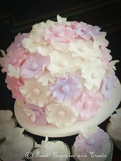 Wedding Cake by One Sweet Girl (Just Cupcakes!), via Flickr