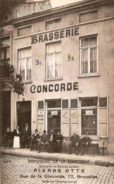 brasserie de la concorde, Ixelles