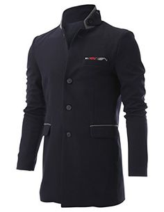 FLATSEVEN Men's Stand Up Point Collar 4 Button Waffle Fabric Casual Long Blazer Jacket with Handkerchief (BJ504) Navy, Boys L FLATSEVEN http://www.amazon.com/dp/B00OWZLR0Q/ref=cm_sw_r_pi_dp_r-jyub1F6JPWP