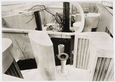 1956: House of the Future Future House, Alison And Peter Smithson, Concrete Interiors, Tulip Chair, Urban Setting, Working Area, Home Look, Art And Architecture, Home Buying