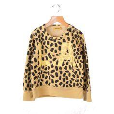 Leopard Pocket Sweatshirt still in stock (we restocked a few)