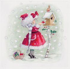 Annabel Spenceley - Snowy Gift