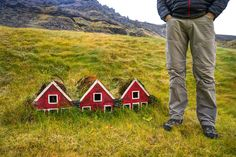 Turf Houses Made for Elves, Iceland. Photo the expert vagabond