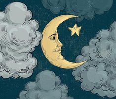 Moon Design Tapestry Wall Hanging Meditation Yoga Grunge Hippie Wanderlust