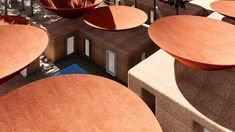 Concave Roof by BMDesign Studios, rainwater collection roof designs, Concave Roof for collecting rainwater, double roof system for rainwater harvesting, natural cooling roofs Architecture Company, Cabinet D Architecture, Concave, Water From Air, Rainwater Harvesting System, Water Scarcity, Cool Roof, Water Collection, Desert Homes