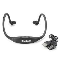 Wireless Bluetooth Sports Headphones Headset Mic Earphones For iPhone