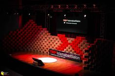 Set Design For Tedx Islamabad Online Architecture, Architecture Design, Type Setting, Modern House Design, Design Firms, Set Design, Corporate Events, Beautiful Homes, Ted