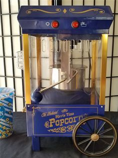 AUCTION*AUCTION*AUCTION MERCY LANGFORD AUCTIONEER: AU004238 A- Popcorn Machine Popcorn Machine is like new..with two popcorn cups.  Bidding starts at $1.00 and increments of at least $1.00 or more. Auctions end Saturday at 7:00pm.  All bids marked one minute after ending time are late. There is a 10% buyers premium and 7up % sales tax added on to the winning bid. ITEMS MUST BE PICKED UP WITHIIN SEVEN DAYS.. NO EXCEPTIONS. Please read our rules before bidding. All sales final!