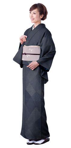 きものやまとオンラインショップ きもの遊び.net | 江戸小紋 洗えるプレタ着物