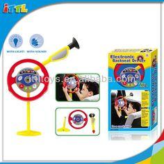 141813 Electronic Backseat Driver Toy Steering Wheel