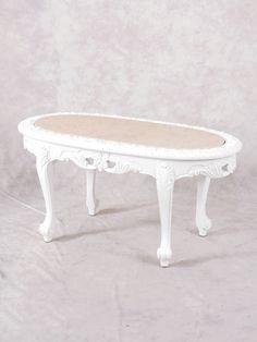 ローテーブル 2107-18-YM メイングループ アンティークそっくり市場 Rococo Style, Vanity Bench, Coffee, Antiques, Table, Furniture, Home Decor, Kaffee, Antiquities