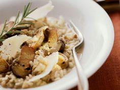 Steinpilzrisotto mit Parmesan
