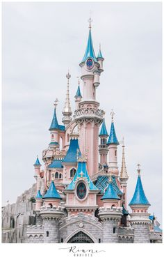 The Disneyland Paris castle is a must see while in France!