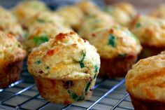 Mini Bacon Scallion Corn Muffins