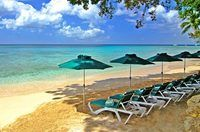 Settlers Beach  Barbados  Perfect combination:sun, sea and shade