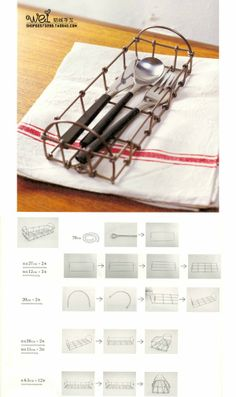 Simple aluminum storage basket with tutorials straightforward production tools needed are diagonal pliers flat nose pliers Round nose pliers material Weijiade sale Oh! Wire Crafts, Metal Crafts, Wire Storage, Storage Basket, Christmas Crafts For Gifts, Wire Hangers, Chicken Wire, Wire Mesh, Wire Baskets