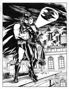 Batman and Catwoman by Craig Cermak