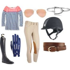 Horse Back Riding Outfit!