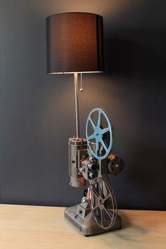 Vintage Table Lamp / Desk Lamp  Keystone Regal by LightAndTimeArt, $440.00