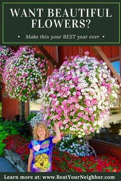 If you want to have your best flowers ever and make your neighbors jealous go to www.BeatYourNeighbor.com to find out how.