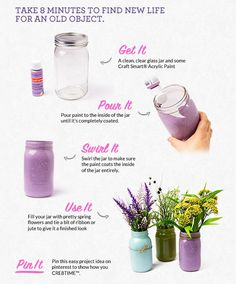 Recycled Mason Jar