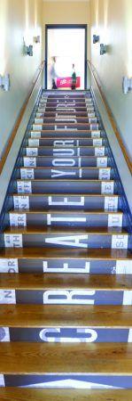 Vertical Phrase International Design Awards Winners Signage & Environmental Graphics - HOW Design Office Signage, Office Branding, Wayfinding Signage, Signage Design, Floor Signage, Identity Branding, Visual Identity, Environmental Graphic Design, Environmental Graphics