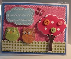 LOVE making owl cards