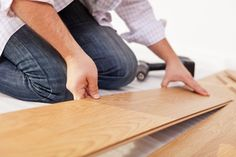 What's the difference between a floating floor installation and a glue-down hardwood floor installation? Here are some of the pros and cons of each. Best Wood Flooring, Diy Wood Floors, Installing Laminate Flooring, Concrete Floors, Prefinished Hardwood, Engineered Hardwood, Floor Underlay, Flexible Wood, Floating Floor