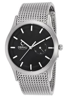 WATCHES of MEN   You Own it just you LOVE it!: Obaku Denmark Designer Watches