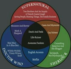 SuperWhoLock is like playing with fire. Fire that throws feels and death everywhere. Life-ruiner. Yeah. SuperWhoLock is one huge life-ruining mixture!