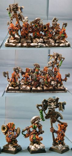 The Internet's largest gallery of painted miniatures, with a large repository of how-to articles on miniature painting Warhammer Dwarfs, Warhammer Art, Warhammer Fantasy, Blood Bowl, Dragon Slayer, Old World, Old School, Old Things, Miniatures