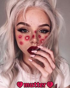 scary makeup looks make up * scary makeup looks & scary makeup looks easy & scary makeup looks halloween ideas & scary makeup looks make up Makeup Trends, Makeup Inspo, Makeup Inspiration, Makeup Ideas, Nail Inspo, Makeup Tutorials, Fashion Inspiration, Crazy Makeup, Pretty Makeup