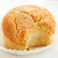 A Hong Kong bakery favorite! Like a rich, buttery cookie parked on top of a milky soft bun.